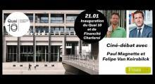 Débat Paul Magnette / Felipe van Keirsbilck - Quelle réponse citoyenne face à la finance?